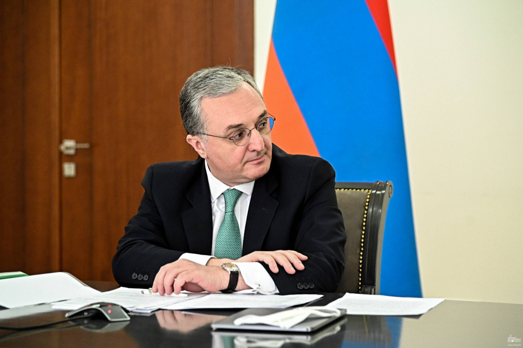 Armenian Foreign Minister Zohrab Mnatsakanyan: I am ready to meet with  Azerbaijan counterpart even tomorrow